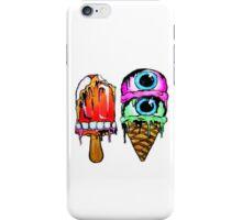 ICE CREAM EYE SCREAM iPhone Case/Skin