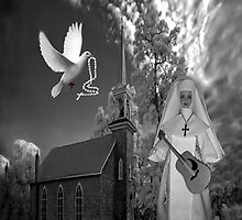 OH I'D LIKE TO GO BACK TO THAT OLD COUNTRY CHURCH-AND HEAR THE SONGS OF PRAISE - PICTURE/CARD by ✿✿ Bonita ✿✿ ђєℓℓσ