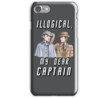 Star Trek/Sherlock Holmes iPhone Case/Skin