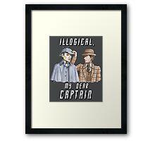 Star Trek/Sherlock Holmes Framed Print