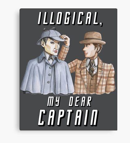Star Trek/Sherlock Holmes Canvas Print