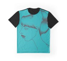 Lisette (Teal) Graphic T-Shirt