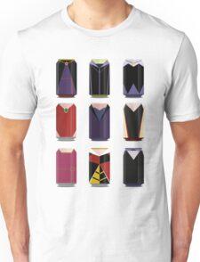 Evil Soda Cans - Female Villains Edition Unisex T-Shirt
