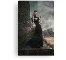 Half Elf Queen Canvas Print