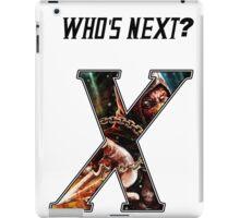 WHO'S NEXT iPad Case/Skin