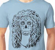 Dia de Los Muertos - Black Glue Resist Unisex T-Shirt
