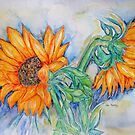 THE HEART OF THE SUNFLOWERS by Gea Austen