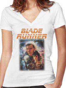 Blade Runner Shirt! Women's Fitted V-Neck T-Shirt