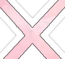 Field Hockey Pink Sticker