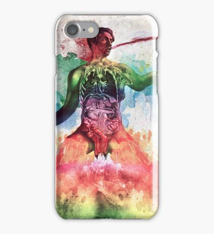 The Vibrant Disarray of Thoughts Fabricated by Reality (Dissociation) iPhone Case/Skin