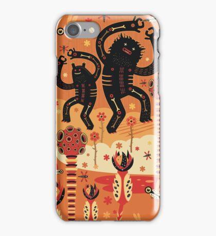 Les danses de Mars iPhone Case/Skin