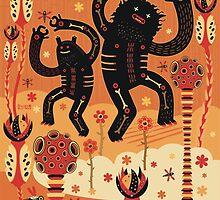 Les danses de Mars by Exit  Man