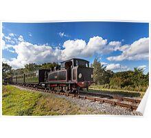 Steam Locomotive Ajax Poster
