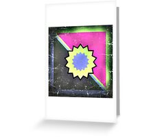 Space Flowers Unite Greeting Card