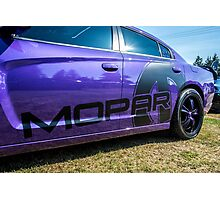 Dodge Charger Mopar decal  Photographic Print