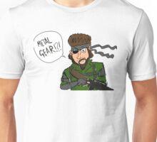 Cartoon Snake - Metal Gear Solid Unisex T-Shirt
