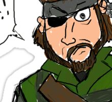 Cartoon Snake - Metal Gear Solid Sticker