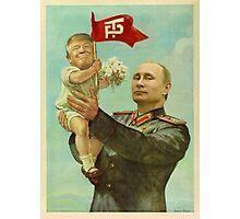 BABY TRUMP WITH PUTIN Photographic Print