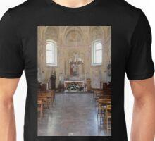 church inside Unisex T-Shirt