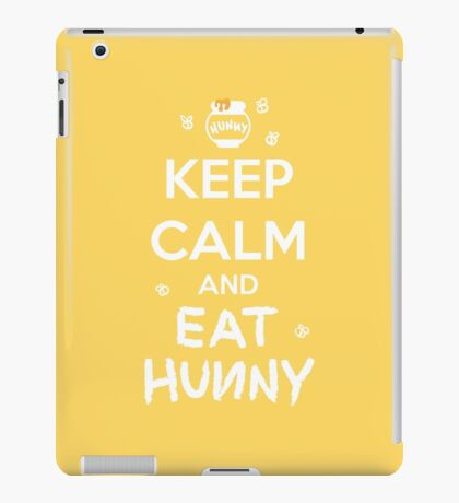 KEEP CALM - Keep Calm and Eat Hunny iPad Case/Skin