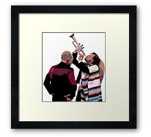 Party Animals Framed Print