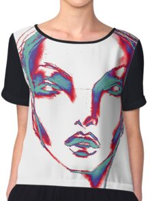 thermo face Women's Chiffon Top