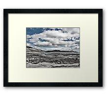 Back Beach 1 Toned - Lyme Regis Framed Print