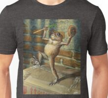 Dancing 'Poor Man' Toad, acrylic painting Unisex T-Shirt