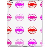 bright lips print iPad Case/Skin