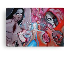 Visceral Entities by Stephen Serra Canvas Print