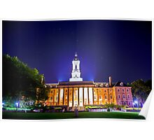 Big Dipper Over Old Main Poster