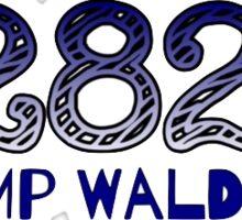 Camp Walden Sticker