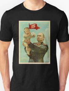 BABY TRUMP WITH PUTIN Unisex T-Shirt
