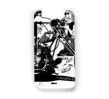 3 Bikers with Chopper Samsung Galaxy Case/Skin