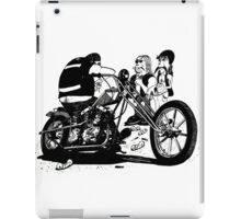 3 Bikers with Chopper iPad Case/Skin
