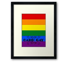 BBC Sherlock - Camp Gay Framed Print