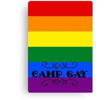 BBC Sherlock - Camp Gay Canvas Print