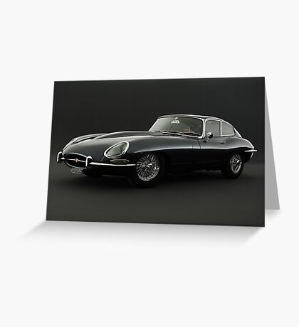 Jaguar XK-E Greeting Card