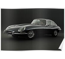Jaguar XK-E Poster