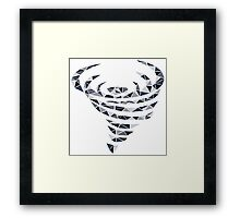 Wind Element Framed Print