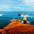 Bay of Islands - Great Ocean road - Victoria by Yukondick