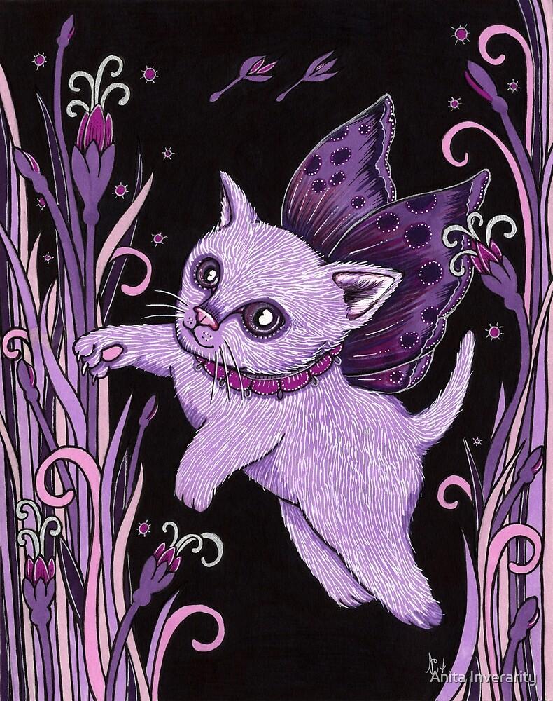 Flutter Cat by Anita Inverarity