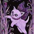 Flutter Cat by Anita Inverarity
