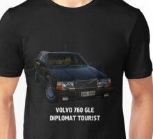 Volvo 760 GLE Diplomat Tourist Unisex T-Shirt