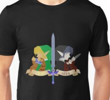 Light and Dark - Legend of Zelda - Link Unisex T-Shirt