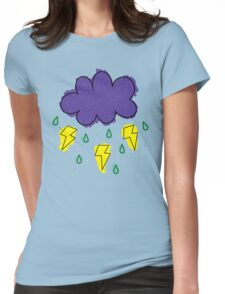 Electric storm. Womens Fitted T-Shirt
