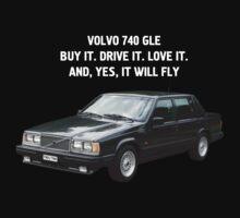 Volvo 740 GLE T-Shirt