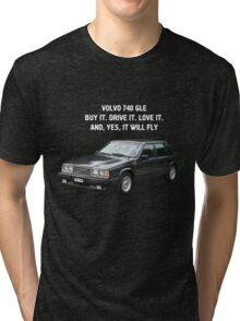 Volvo 740 GLE Tri-blend T-Shirt
