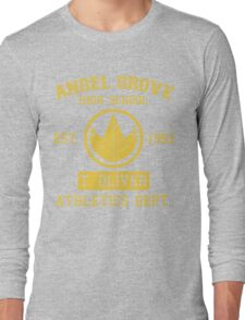 Angel Grove H.S. (Green Ranger Edition) Long Sleeve T-Shirt