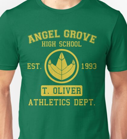 Angel Grove H.S. (Green Ranger Edition) Unisex T-Shirt